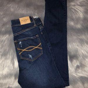 Abercrombie & Fitch skinny jeans dark wash 6R